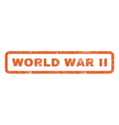World War Ii Rubber Stamp vector