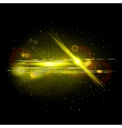 Movie Lens Flare vector image vector image