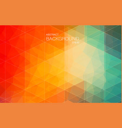 Red and green bright color background with vector