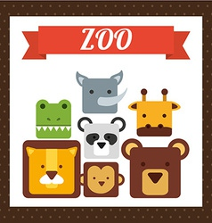 animal cute vector image