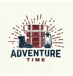 Adventure time concept vector