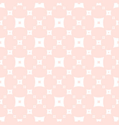 Cute seamless subtle white and pink pattern vector