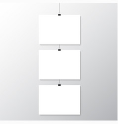 grey wall with mock up vector image
