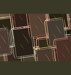 Handphone or mobilephone details digital vector
