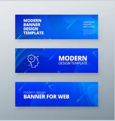 horizontal sale banner background for social vector image