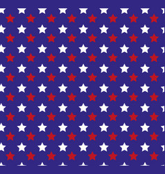 independence day america seamless pattern july vector image