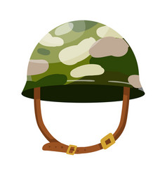 Isolated object caps and military logo set of vector