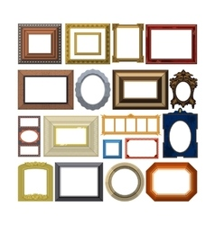 Photo or image frame vector image