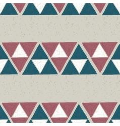 Seamless hand drawn geometric pattern vector