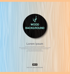 Vintage pastel wood plank as texture vector