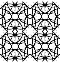 illustration seamles tile ornate pattern vector image vector image