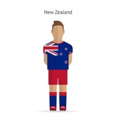New Zealand football player Soccer uniform vector image
