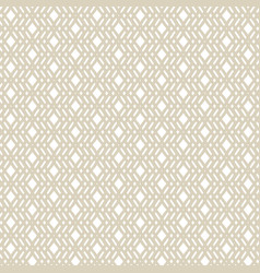 golden geometric seamless pattern in ethnic style vector image