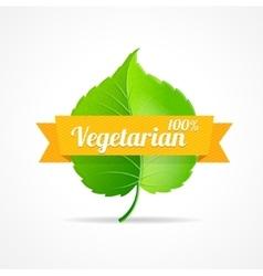 vegan label vector image