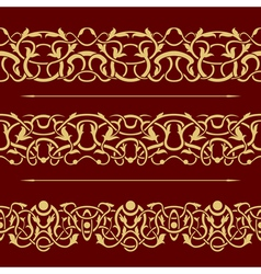 border seamless vector image