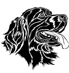 canine vector image
