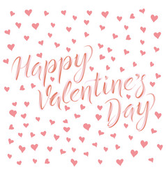 card on valentine day vector image