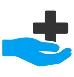Health Care Donation Icon vector image