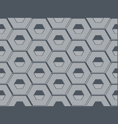 honeycomb hexagon abstract geometric seamless vector image
