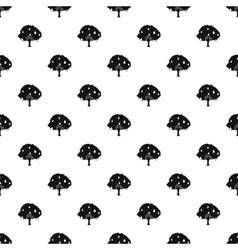 Pear tree pattern simple style vector