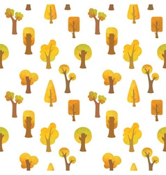 Seamless autumn pattern vector