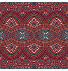 tribal ethnic background seamless pattern vector image
