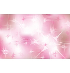 pink stars vector image vector image