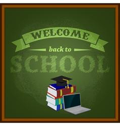 school8 vector image