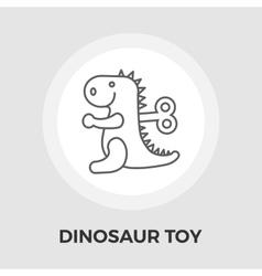 Dinosaurus flat icon vector