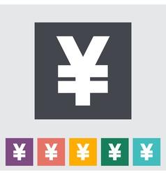 Icon Yen vector