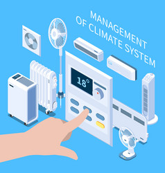 Management climate system composition vector