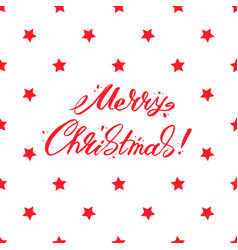 Merry christmas text design lettering vector