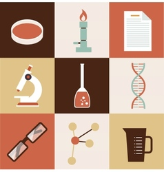 Scientist chemist vector
