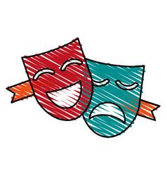 mask icon image vector image