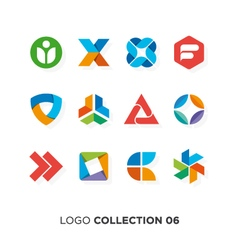 Logo collection 6 vector