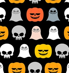 Seamless pattern for Halloween Background of the vector image