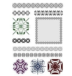 Al 0430 ornaments vector