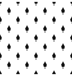 Columnar tree pattern simple style vector