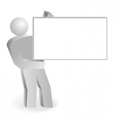 empty board vector image