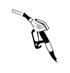 Gasoline pump nozzle vector