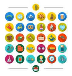 Leisure tourism entertainment and other web icon vector