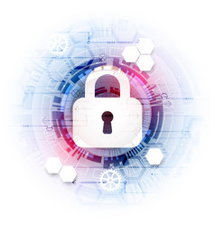 Secure digital space virtual confidential vector