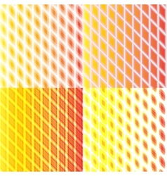 set of color abstract glowing background with vector image
