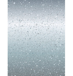 silver dust explosion on grey background vector image