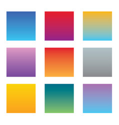 abstract colorful multicolored backgrounds set vector image