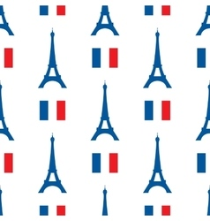 seamless texture of the Eiffel Tower and vector image