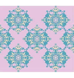 Doodle decorative geometric pattern vector image vector image