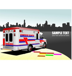 Al 0743 ambulance vector