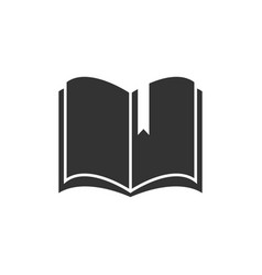 book icon design template isolated vector image