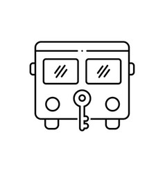 Bus protection vector